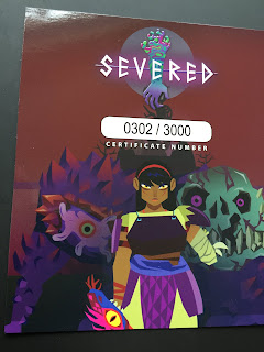 ps vita, severed, drinkbox, physical