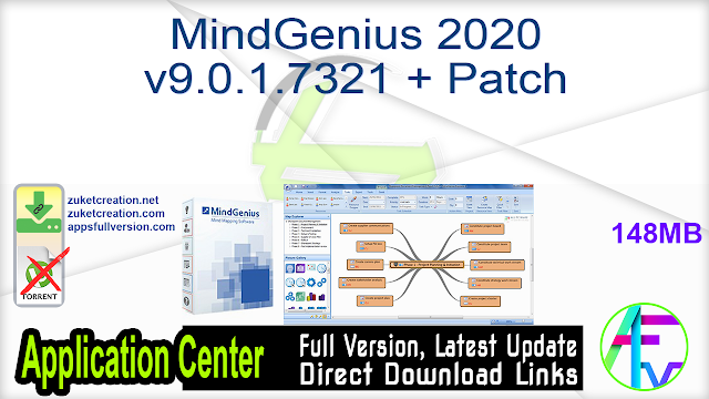 MindGenius 2020 v9.0.1.7321 + Patch