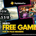 March February 2020 PlayStation Plus Free Games