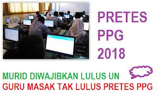 SOAL PRETES PPG MATEMATIKA 2018