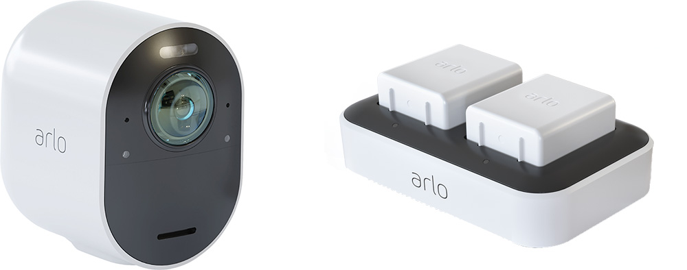 Are Arlo camera batteries rechargeable