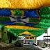 Oito ruas receberão apoio para transmissão de jogos durante a Copa do Mundo FIFA 2018 em Manaus