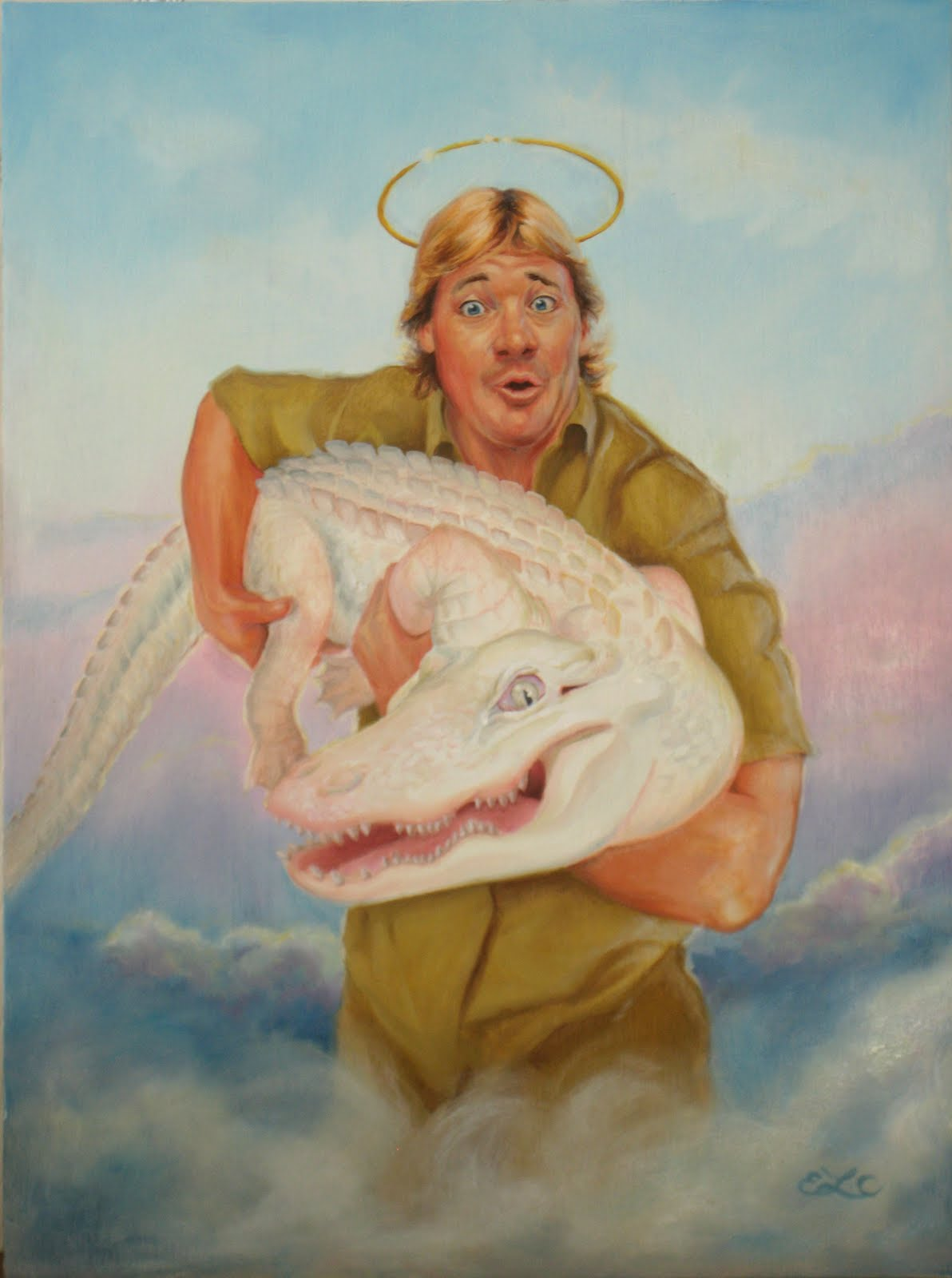 Emily Crowley Illustrator Steve Irwin