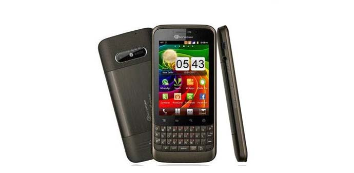 HP Android Qwerty - Micromax A78