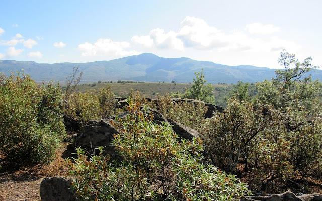Pico Ocejón en la Sierra de Ayllón. Guadalajara