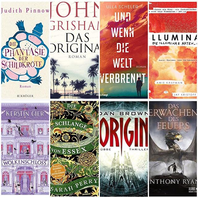 #FutureFriday : Neuerscheinungen im Herbst - was diesen Monat noch so im Bücherregal landet