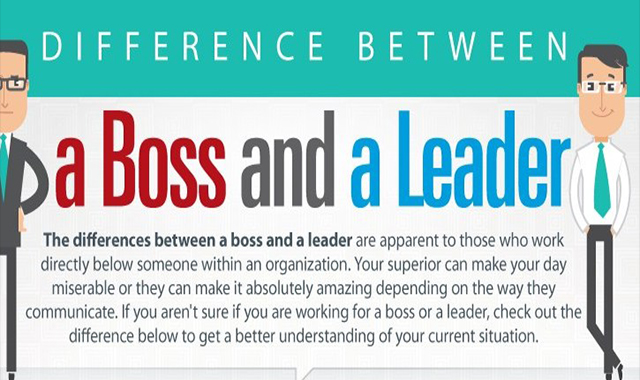 Difference Between a Leader and a Bos