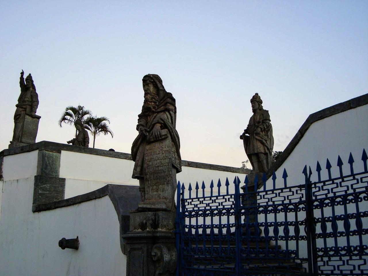 Esculturas de Aleijadinho - Santuário do Bom Jesus de Matosinhos