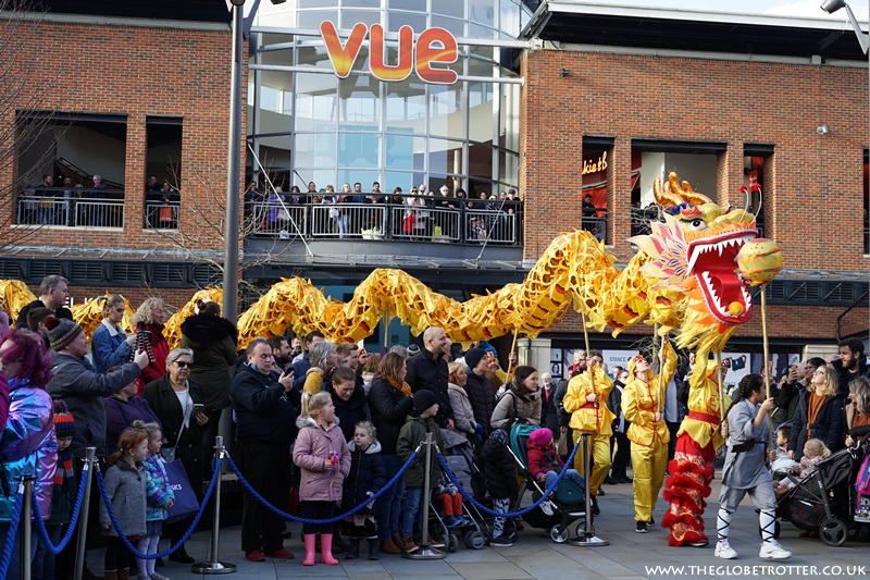 Chinese New Year celebrations at Gunwharf Quays