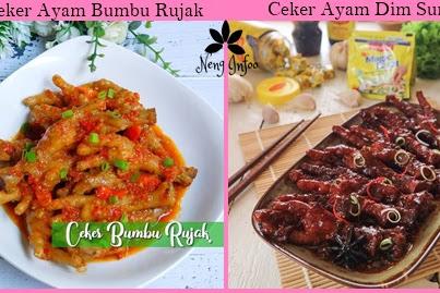 Resep Ceker Ayam Sederhana dan Enak