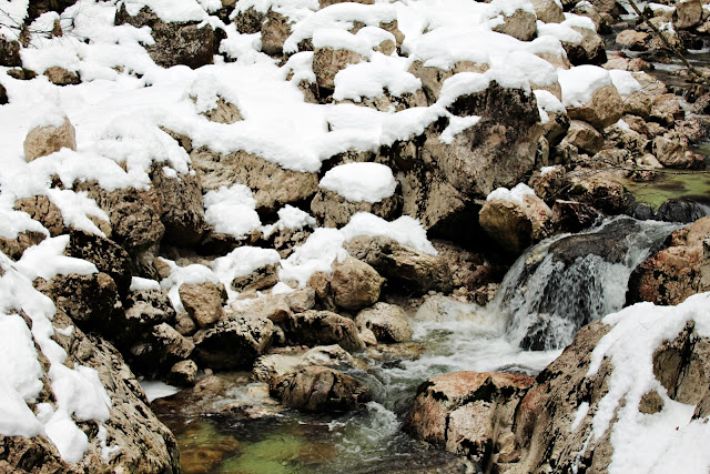 national park Triglav Slovenia Winter