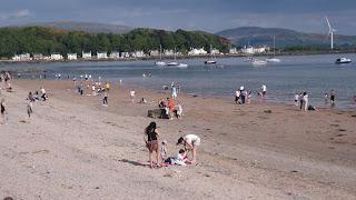 Millport homokos tengerpartja