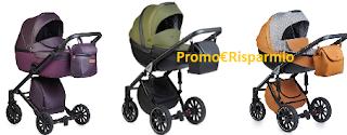 Logo Vinci gratis passeggini Anex Baby con soli 3 click