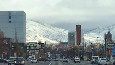 Streets of Salt Lake City