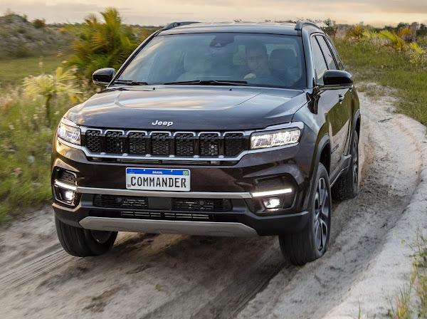 Jeep registra recorde de participação de mercado no Brasil