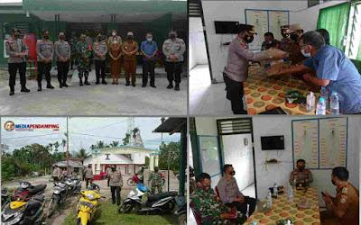 Kapoldasu Datangi Koramil Garoga Taput, Bentuk Sinergitas TNI-Polri