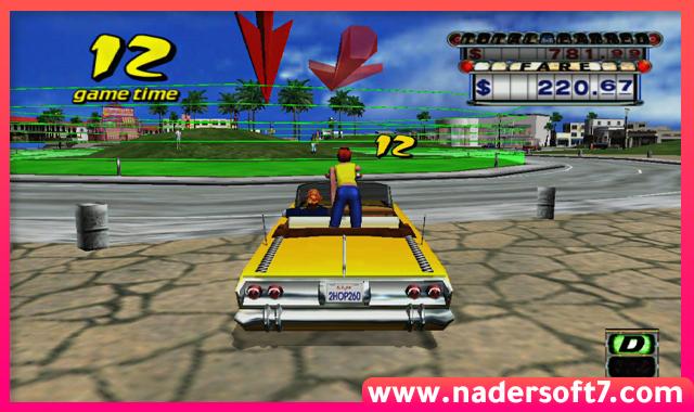تحميل لعبة كريزي تاكسي Crazy Taxi للكمبيوتر القديمة والاصلية من ميديا فاير