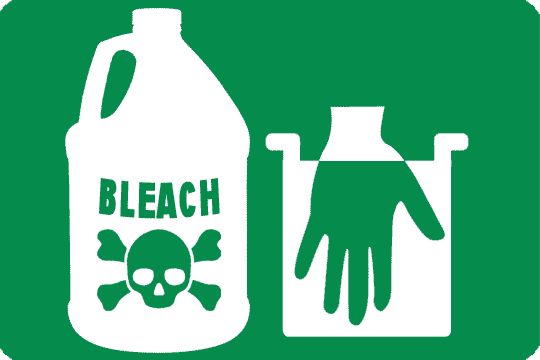 Bleach Is A Dangerous Product For Health
