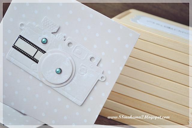 Drewniany dębowy folder na płytę CD