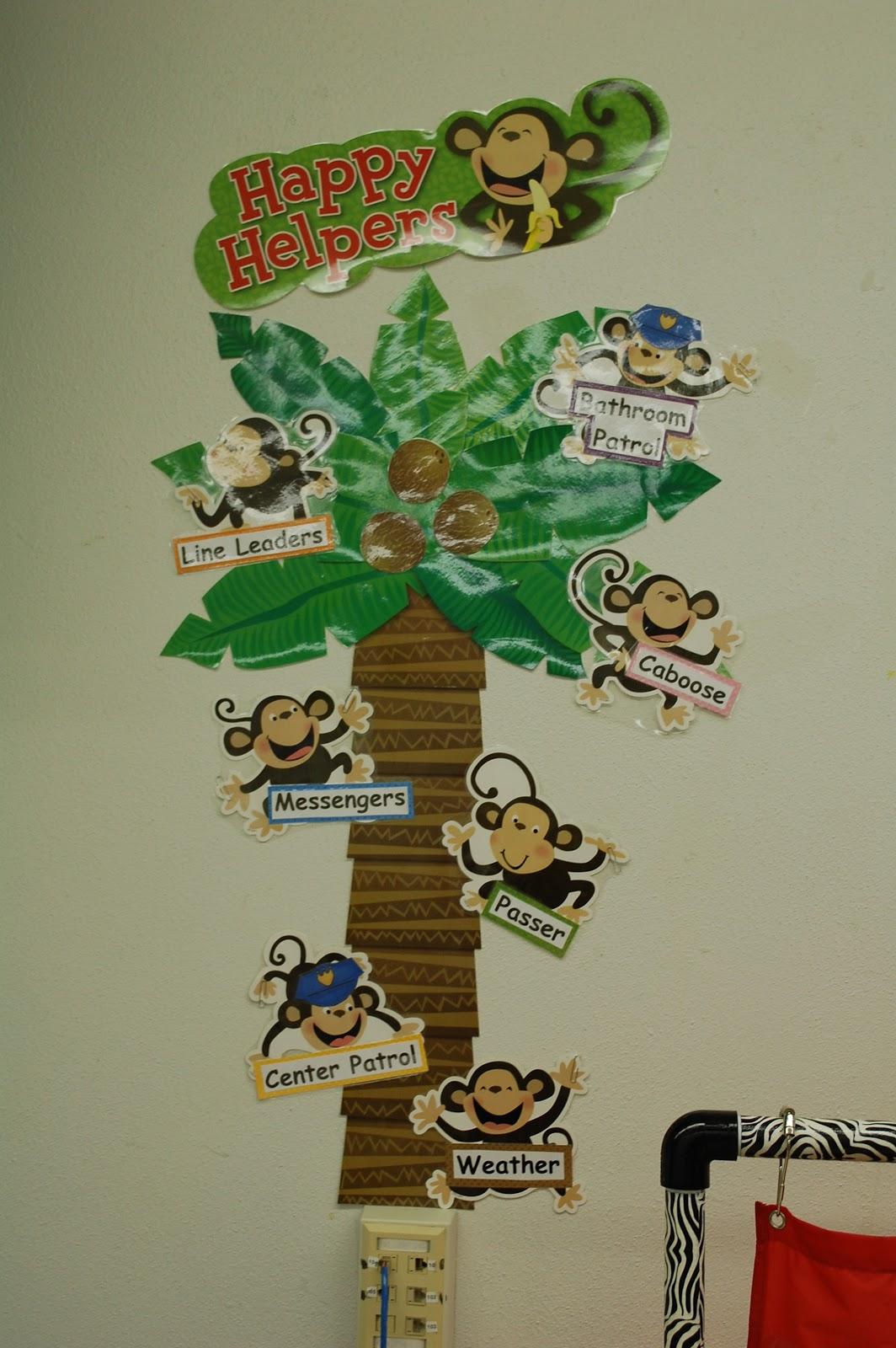 My Jungle Themed Classroom Decor