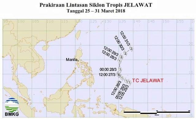 Waspada!! BMKG Toraja Peringatkan Cuaca Esktrim Landa Toraja 3 Hari Kedepan