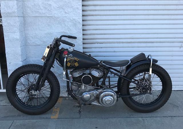 Harley Davidson By Brat Style Hell Kustom