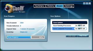 برنامج, إحترافي, لمكافحة, الملفات, الضارة, ومضاد, الفيروسات, الخبيثة, للكمبيوتر, ClamAV