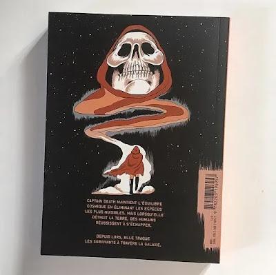 Captain Death est un personnage solitaire dans l'immensité spatial