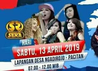 OM. SERA live Lapangan Ngadirojo Pacitan 13 April 2019