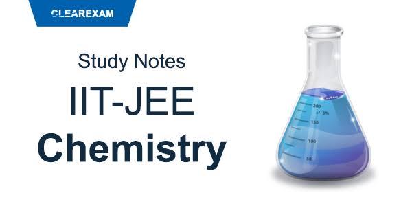 CHEMISTRY IITJEE NOTES BY KOTA FACULTY ~ BEST IITJEE PREPARATION BOOKS