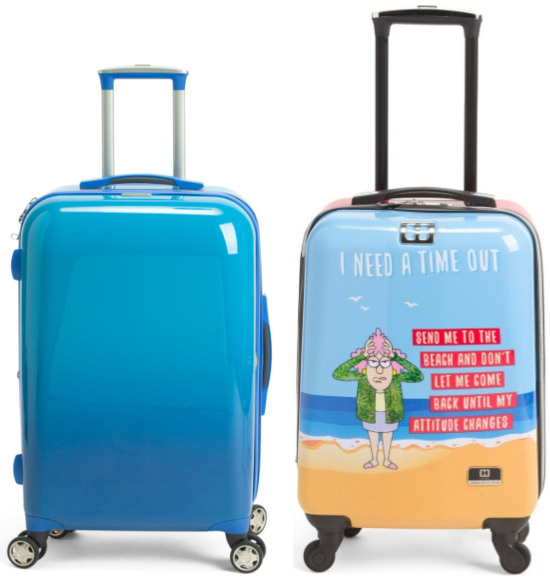 Hardside Blue Beach Spinner Luggage