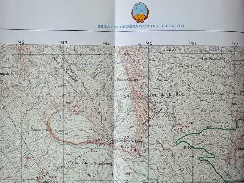 cartografía militar - mapas topográficos - mapas militares