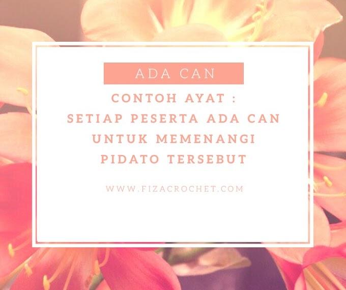 Makna Can sama dalam Bahasa Sarawak