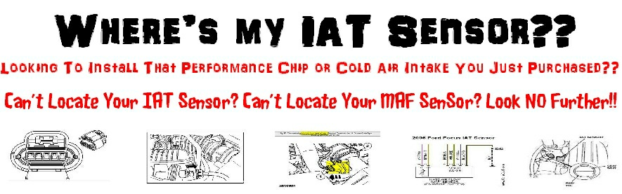 IAT Sensor Performance Chip Installation Procedure: 1993