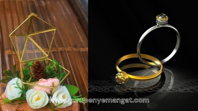 Inspirasi Kotak Cincin Pernikahan yang Murah tapi Elegan