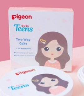 Pigeon teens two way cake