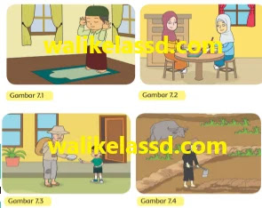 Dalam pembelajaran 3 ini terdiri dari beberapa subjudul yaitu : Kunci Jawaban Pai Kelas 3 Pelajaran 7 Halaman 89 90 94 98 99 Wali Kelas Sd