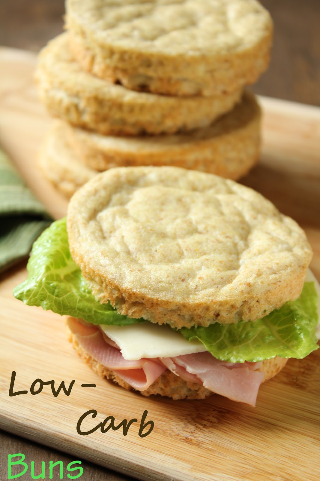 Even Better Low Carb Wheat Free Sandwich Buns Delicious