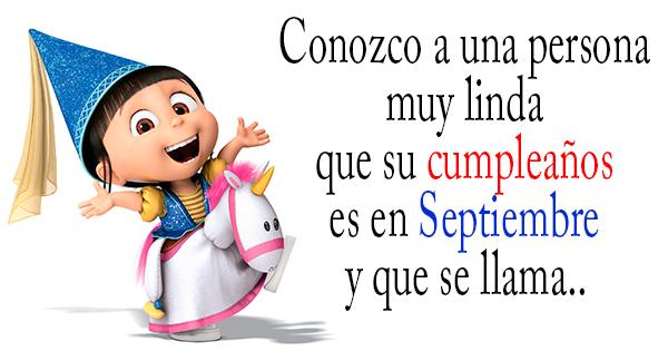 🥳 Feliz Cumpleaños a los nacidos en el Mes de Septiembre