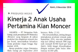 The Performance of 2 Pertamina Subsidiaries is increasingly sparkling
