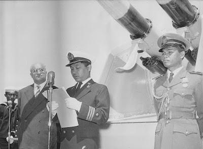 Upacara Peluncuran - Mengenal R.E Martadinata Mantan Laksamana ALRI