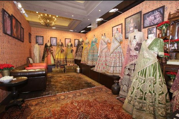 Sabyasachi collection showcase at The Vogue Wedding Show 2019
