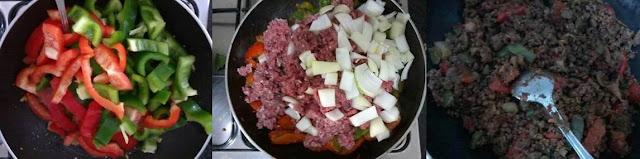 Receita de creme de abobrinha verde com carne moída