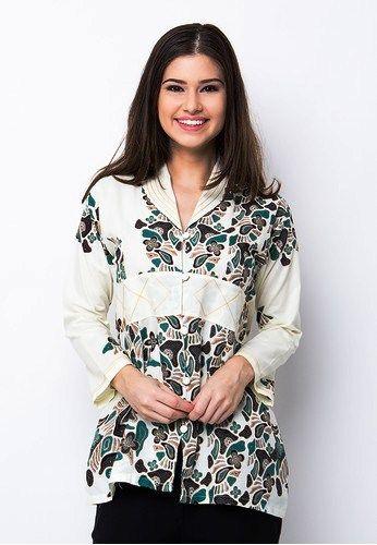 Model Baju Batik Wanita Lengan Panjang Terbaru