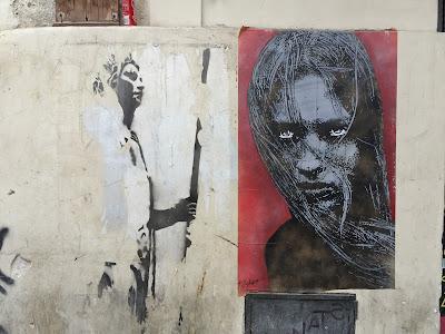 Palermo street art: faces