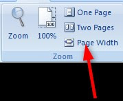 Page Width
