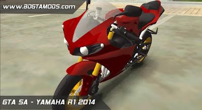 GTA SA - YAMAHA R1 2014 1