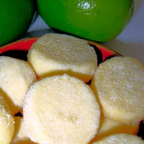 Biscoito de limão com leite condensado