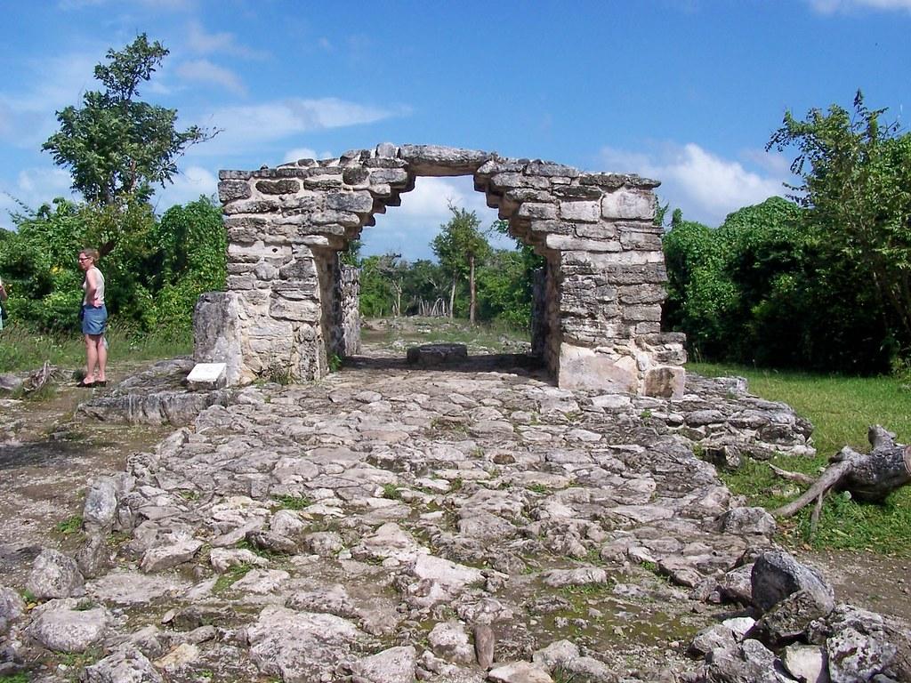 Руины Эль-Каракола в Косумель