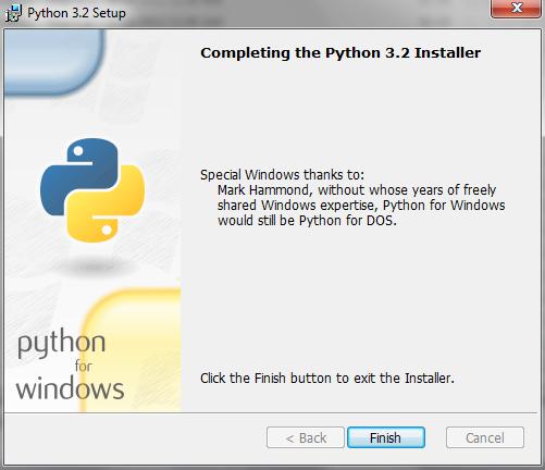 Windows Python Installation